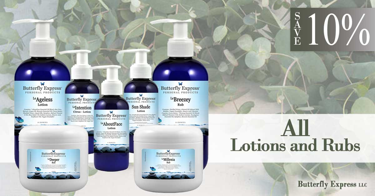 Save 10% Lotions and Rubs